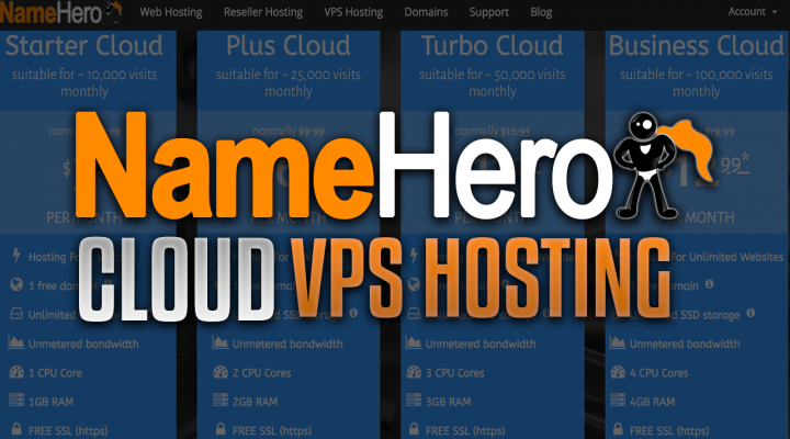 NameHero VPS Hosting