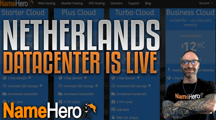 Announcing Netherlands Datacenter For Web Hosting And Reseller Hosting Packages