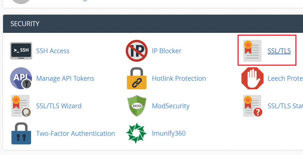 SSL-TLS in NameHero cPanel
