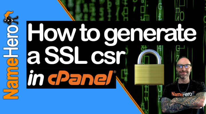 How To Generate A SSL In cPanel