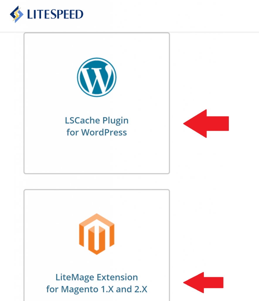 LiteSpeed Plugins for Individual Frameworks