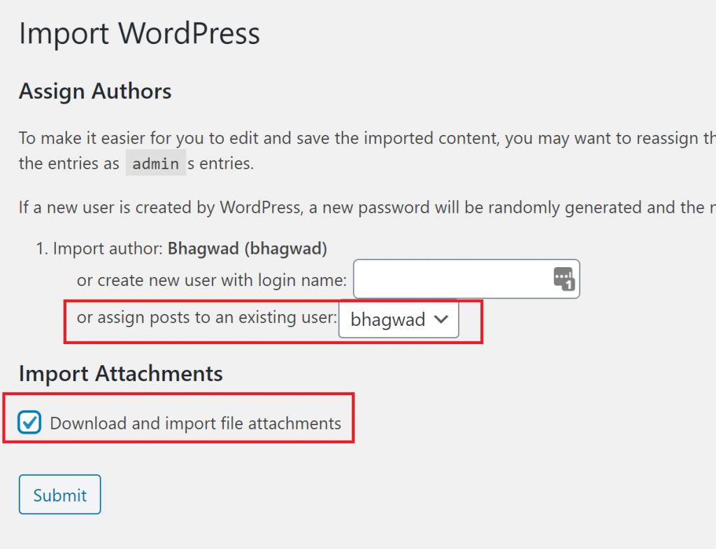 Transfer a WordPress.com Blog