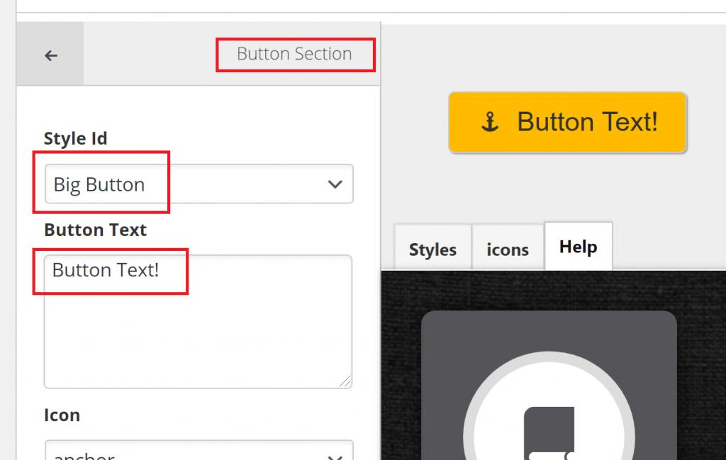 Creating the CTA Button