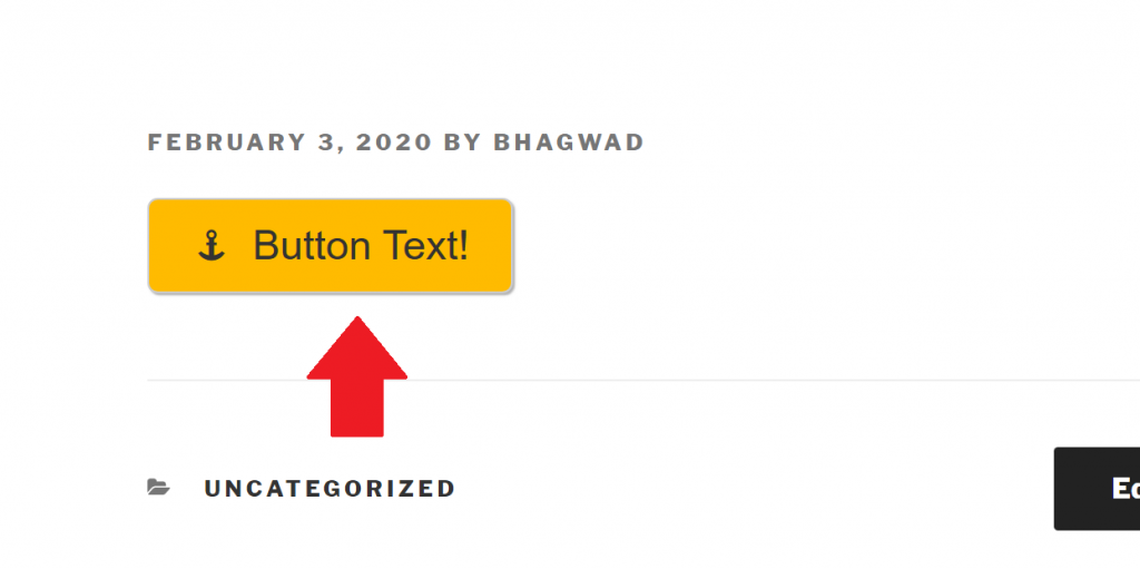 How the Button is Displayed on your Site