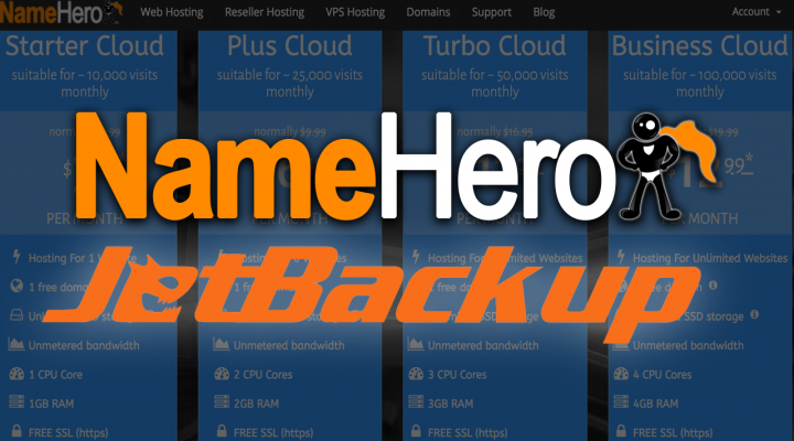 NameHero Gets Jetbackup From cPanel