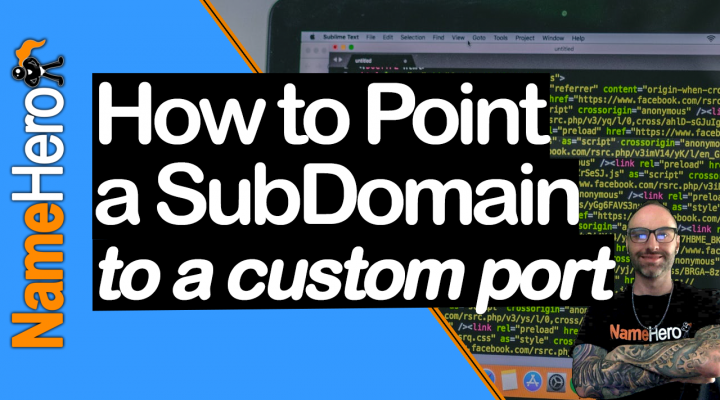 How To Point A SubDomain To A Non-Standard Port With SSL On cPanel