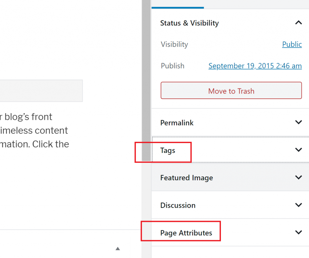 Add Tags to Pages in WordPress