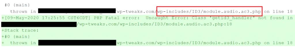 Error Thrown in module.audio.ac3.php