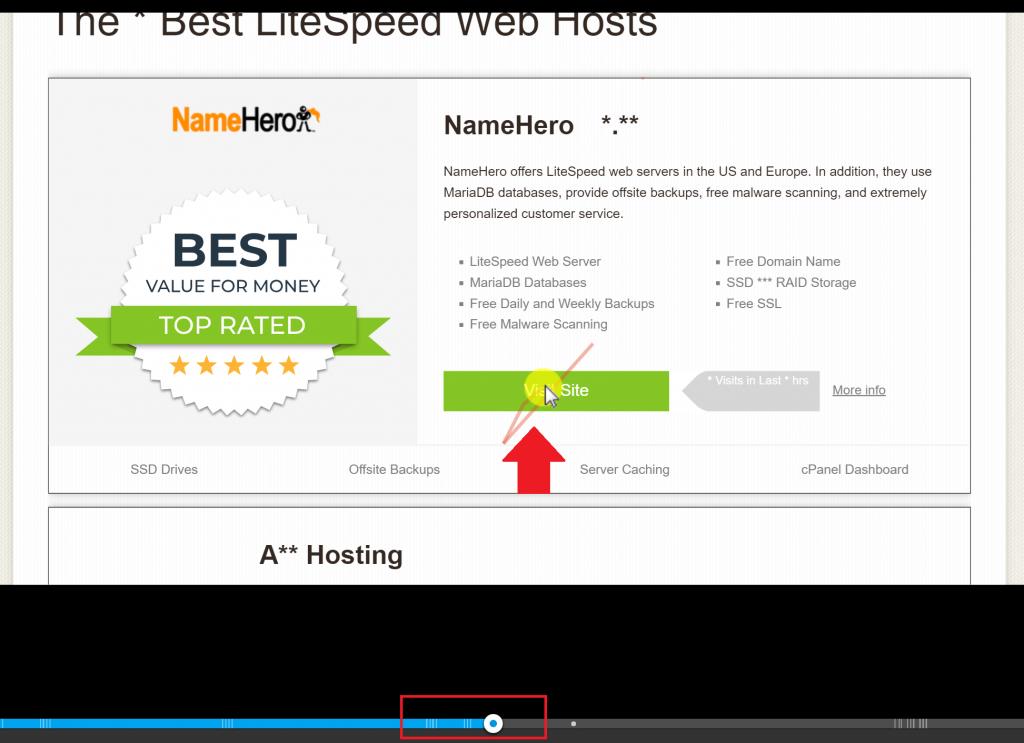 Hotjar Videos of User Behavior