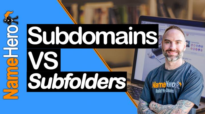 Subdomains vs. Subfolders