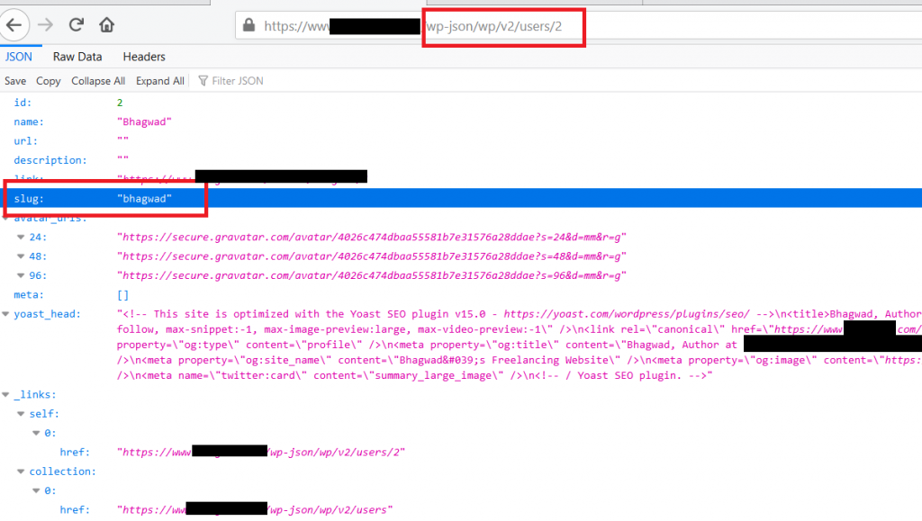 The REST API Allows for Username Enumeration on WordPress