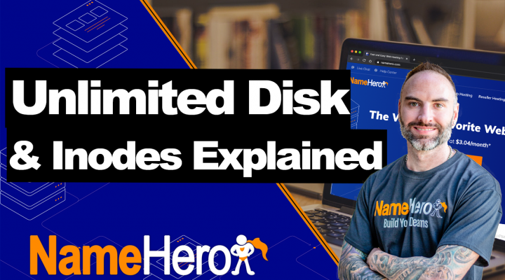"What NameHero's ""Unlimited"" Storage Means"