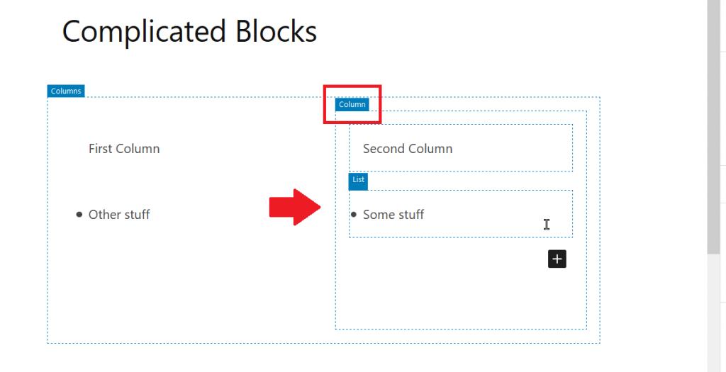 Blocks Outlined in WordPress
