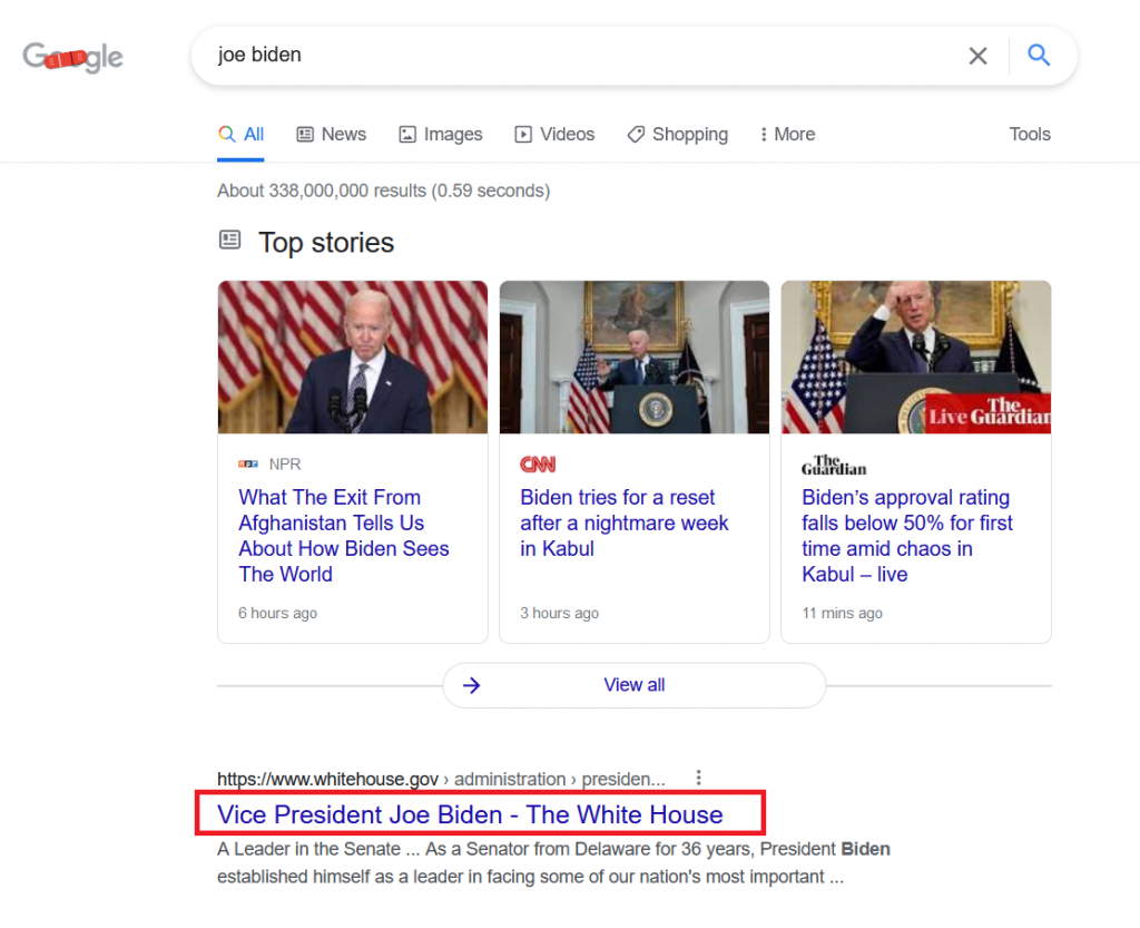 Google Rewriting Title Tags and Misrepresenting Website Content