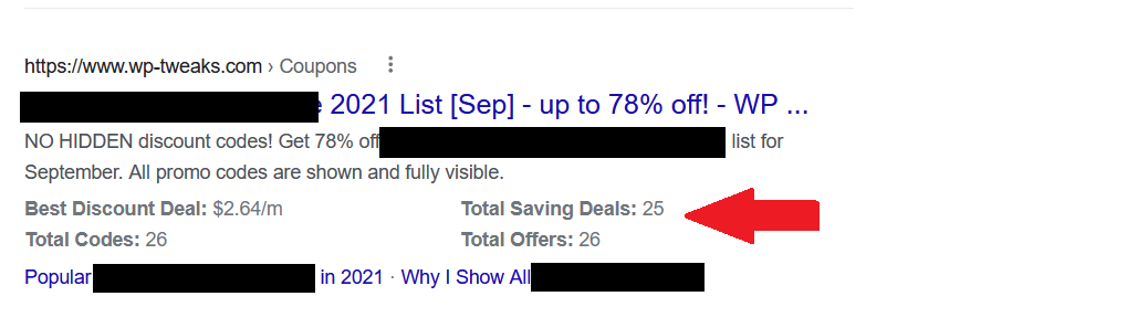 Search Snippets Without Structured Data